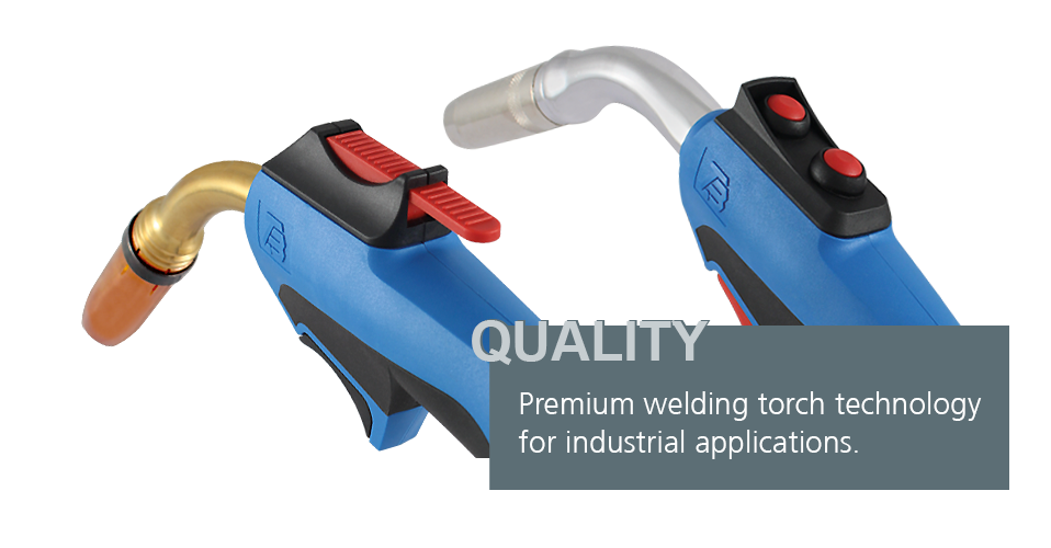 TBi welding torches stand for reliability and a long working life